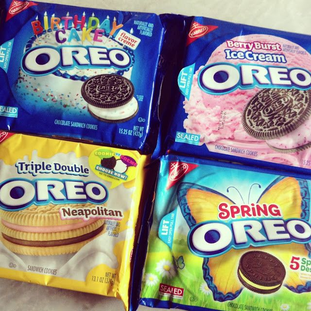 Comfort Food And Warm Fuzzies The Different Flavours Of Oreo Part