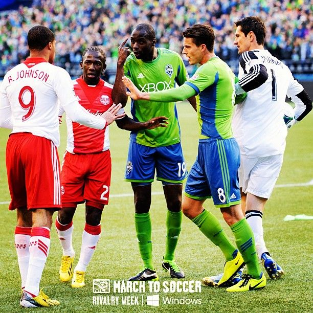 #RivalryDay ended with a 1-1 draw between bitter rivals @soundersfc @portlandtimbers