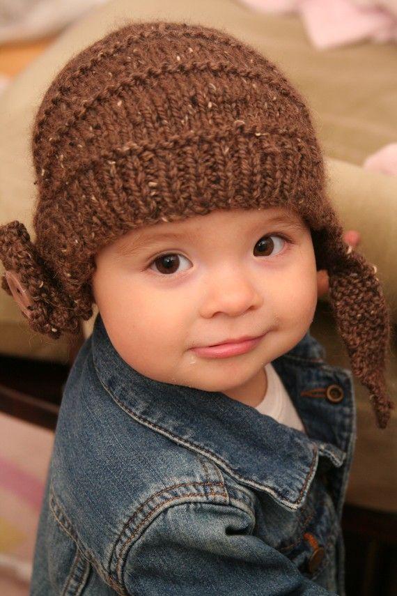 Little Aviator {Infant - Child} Aviatrix - Handknit Helmet ...