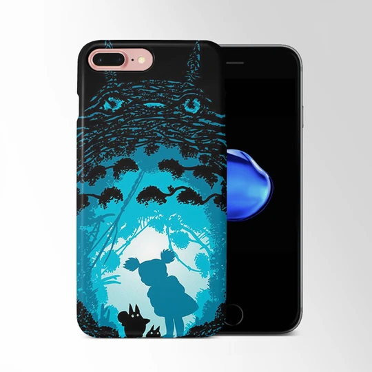 Tororo Blue Shadow Iphone 8 Plus Case Moccase