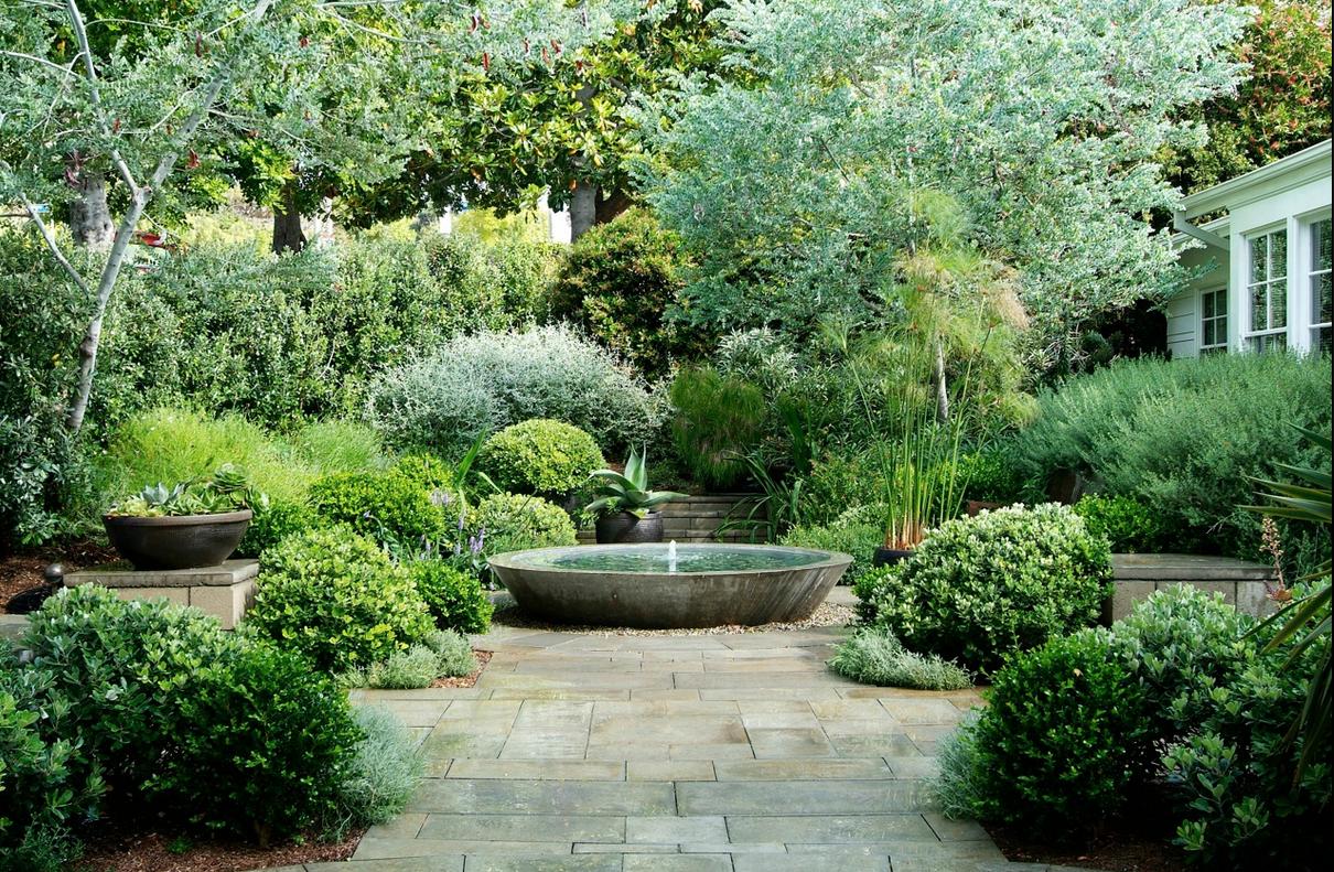 Fabulous No Flower Garden Brunnen Garten Garten Garten Landschaftsbau