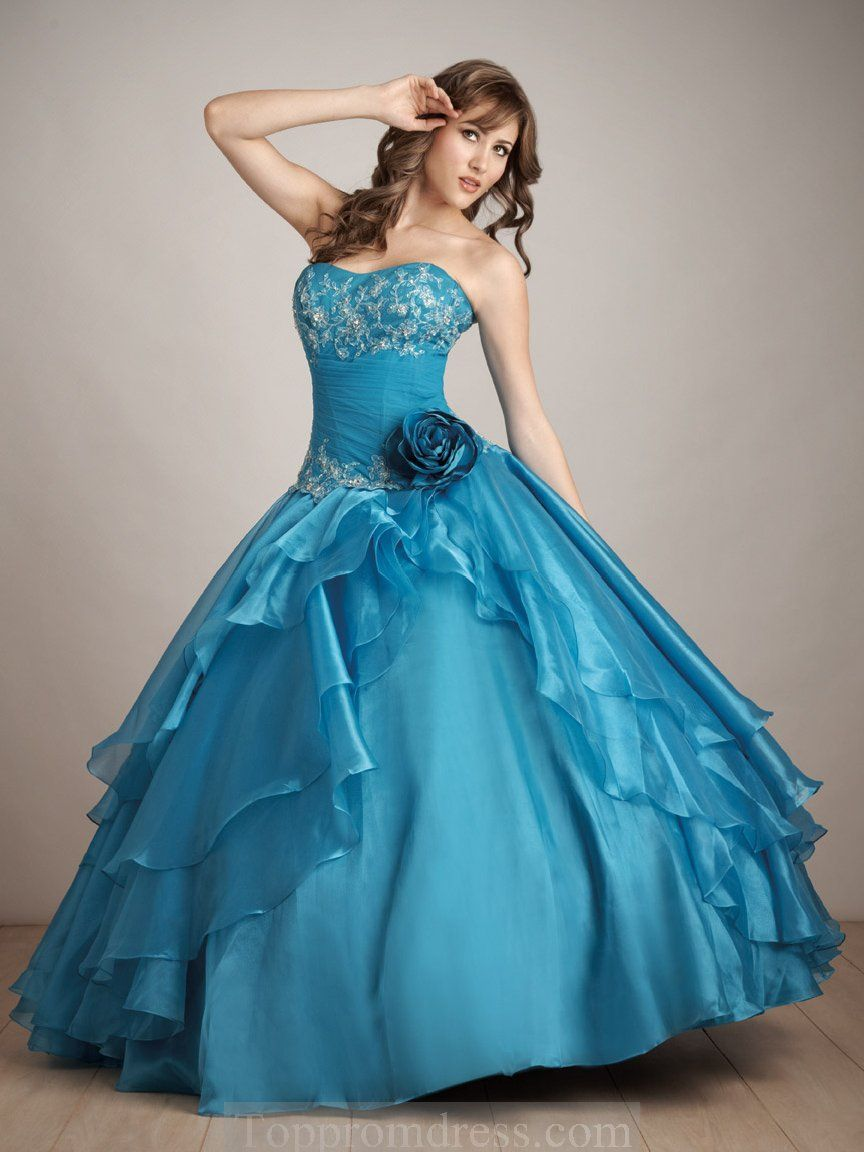 quinceanera dresses | turquoise quinceanera dresses - Cheap Prom ...