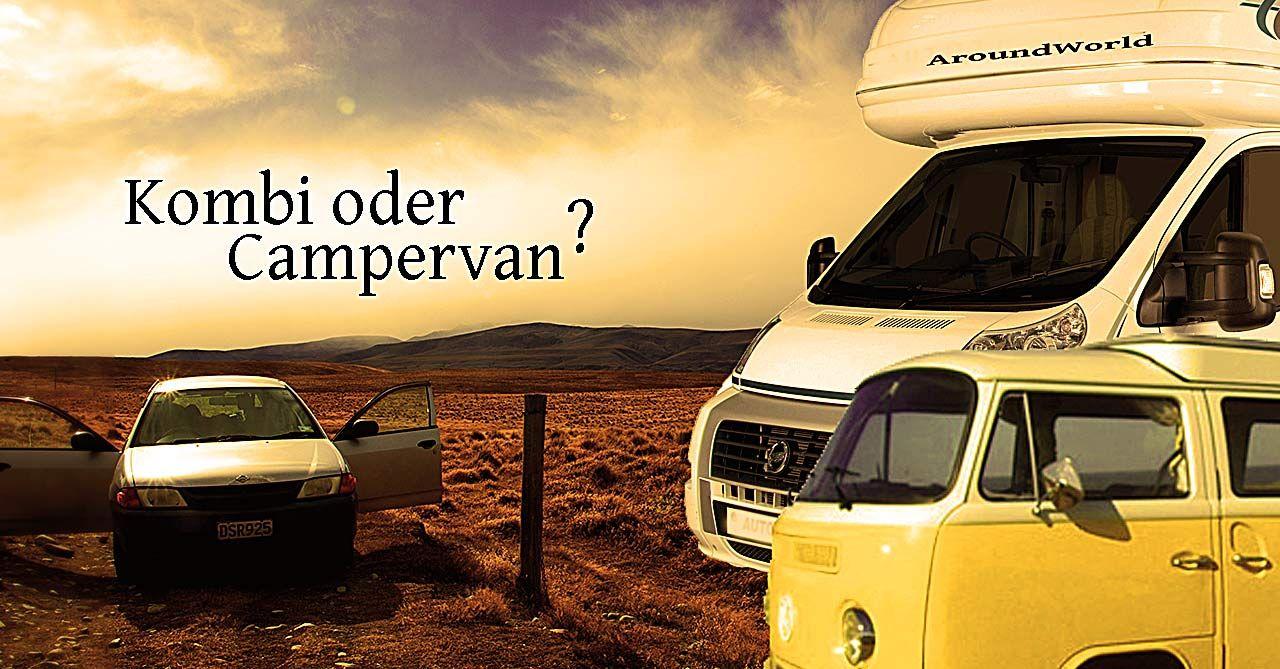 Kombi oder Campervan?