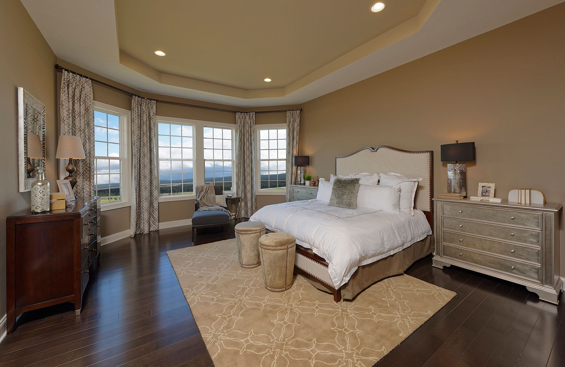 Owner S Suite With Tray Ceiling Peacefield Floor Plan Drees
