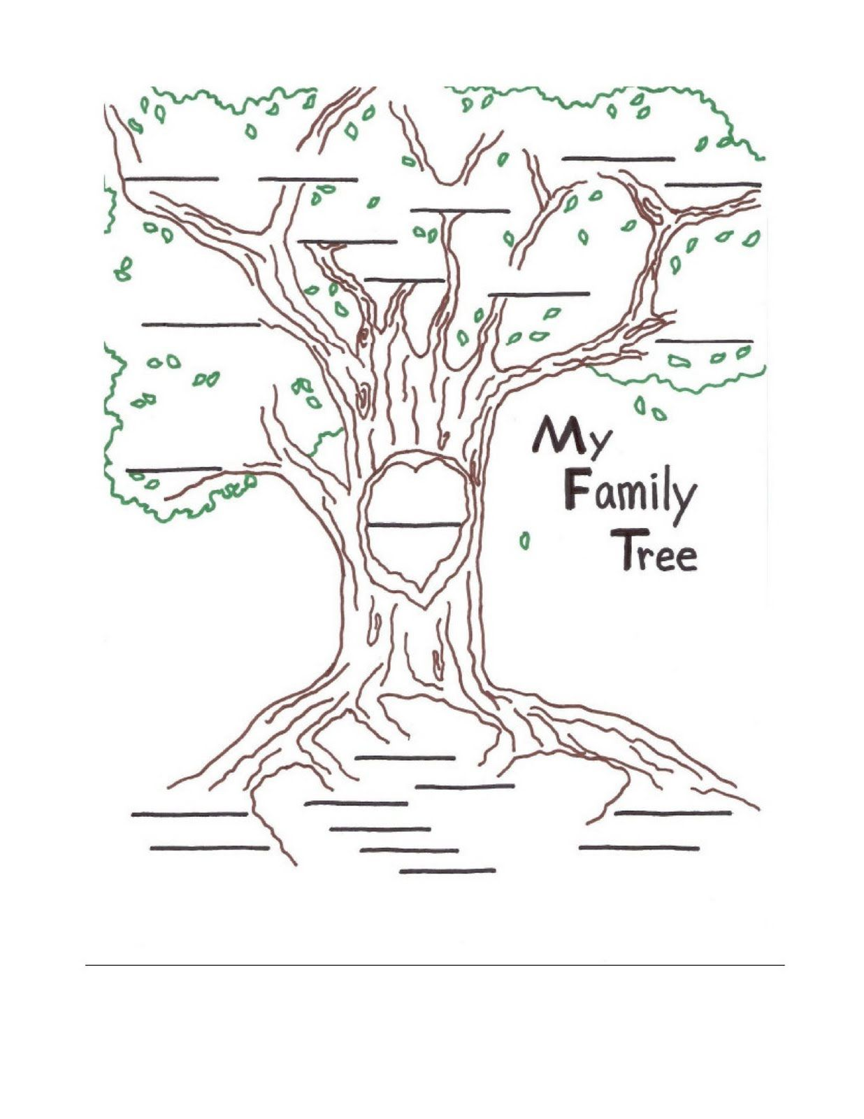 The Rooted Family Tree Where The Roots Represent The