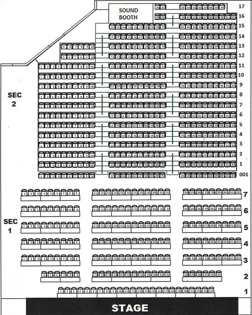 Celebrity Theater Seating Chart Seating Charts Theater Seating Chart