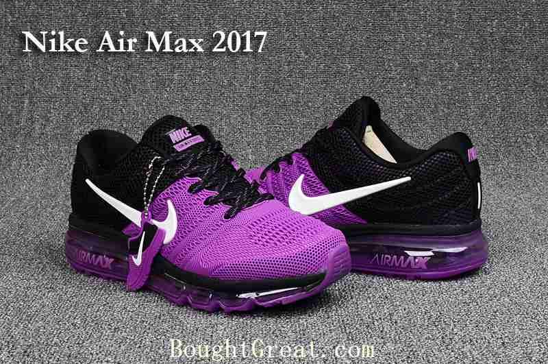nike womens air max black and purple