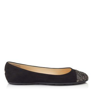 fa5673e66217 Jimmy Choo GAZE FLAT. Jimmy Choo GAZE FLAT Black Flats
