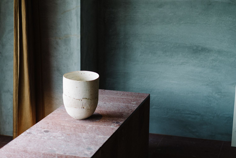 Bijuu Design Hotel In Kyoto, Japan. Luxury Suite Of Minimalistic  Architecture And Industrial Design
