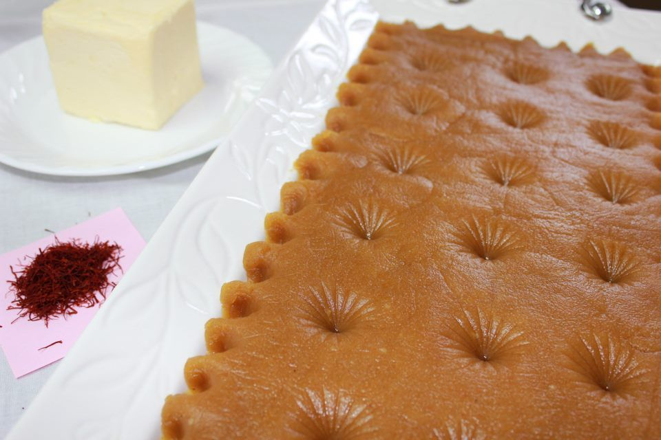 Halva...one of the most delicious iranian sweet desert or somehow old kind of food which had been served with bread as a meal ,in the past.