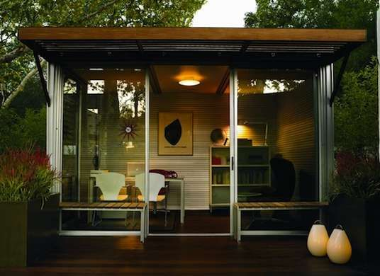 tiny backyard home office. 8 Tiny Backyard Buildings For Work Or Play | Prefab, And Bedrooms Home Office