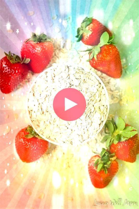 and Cream Overnight Oats  Strawberries and Cream Overnight Oats   También llamada invisible por lo rápido que desaparece del plato  Tomate 5 del día...