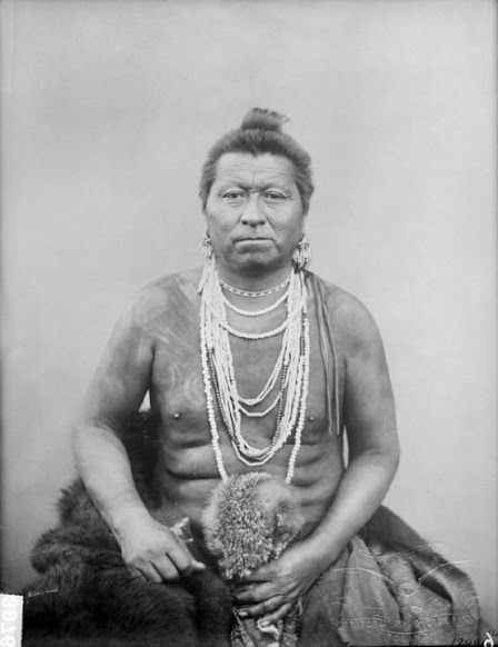In-shta-tha-bi (aka Bright Eye, aka Eye Of The People) - Omaha – 1883