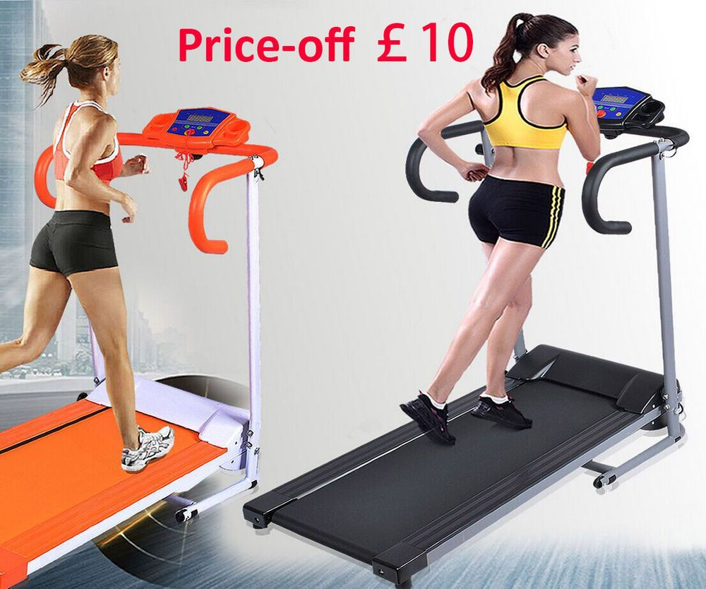 Folding Electric Treadmill Sports Fitness Running Machine