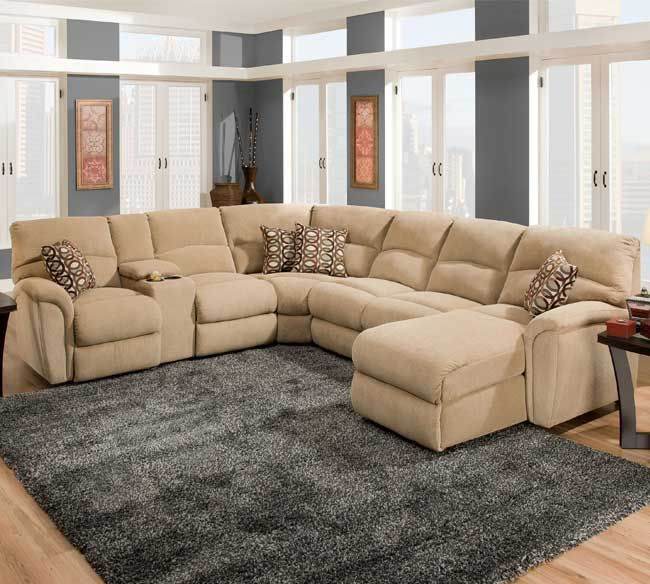 The Lane Grand Torino Sectional Is A Newer Addition To This Elished Line Of Reclining Furniture That Introduces Casual And Transitional Styled