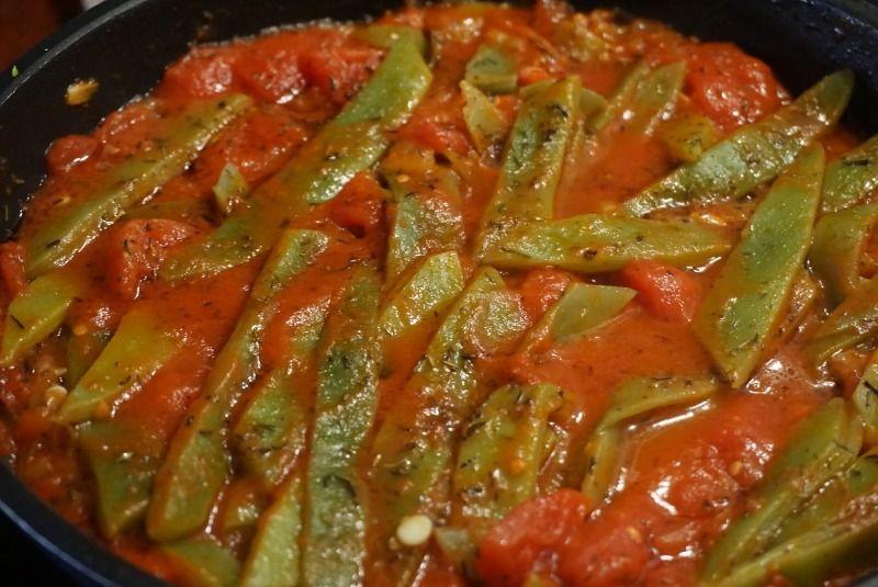 Cocina Y Repostería De Antaño Judías Verdes A La Provenzal Judias Verdes Verduras Recetas Saludables