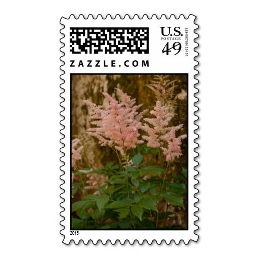 Bushy Pink Flowers Postage.  http://www.zazzle.com/theresasphotography?rf=238200194340614103