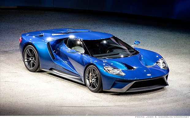 Ford unveils new GT supercar  Ford GT Will have and Carbon fiber