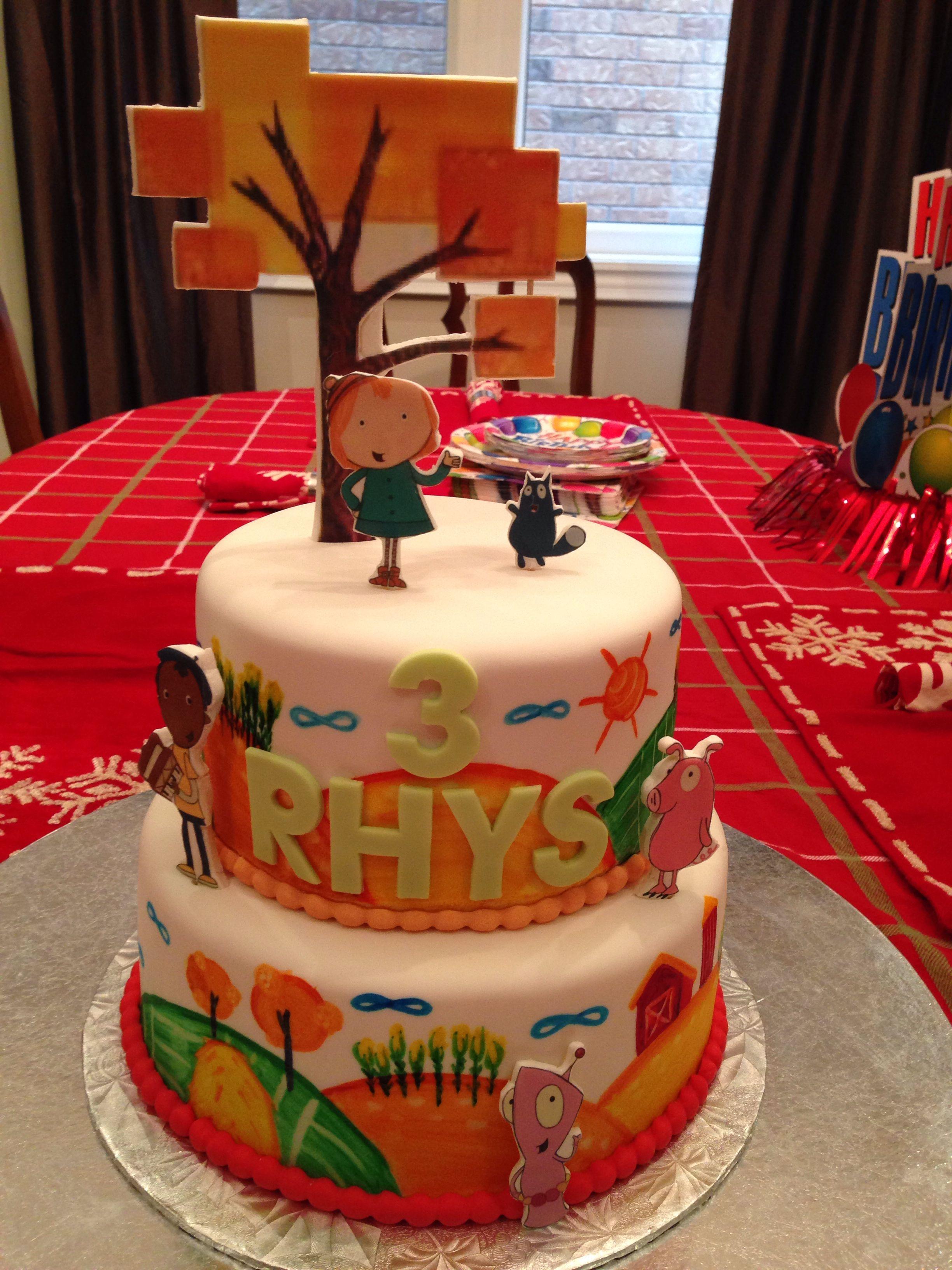 The Best Peg Cat Birthday Cake Thanks To Amanda At La Cupcakes