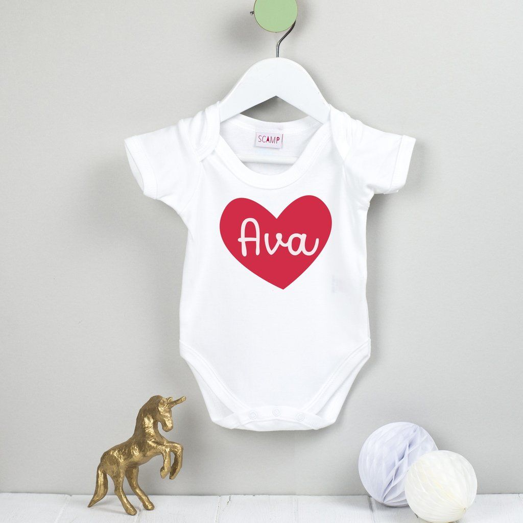 Sleepsuit Vest Glitter Personalised 1st Birthday Babygrow First Various Sizes