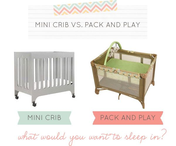 Did You Know The Differences Between A Mini Crib And Pack Play For Your