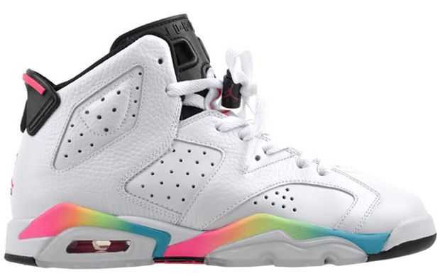 02e932bd597 Jordan retro 6 rainbow | Shoes | Jordan retro, Jordan retro 6, Air ...