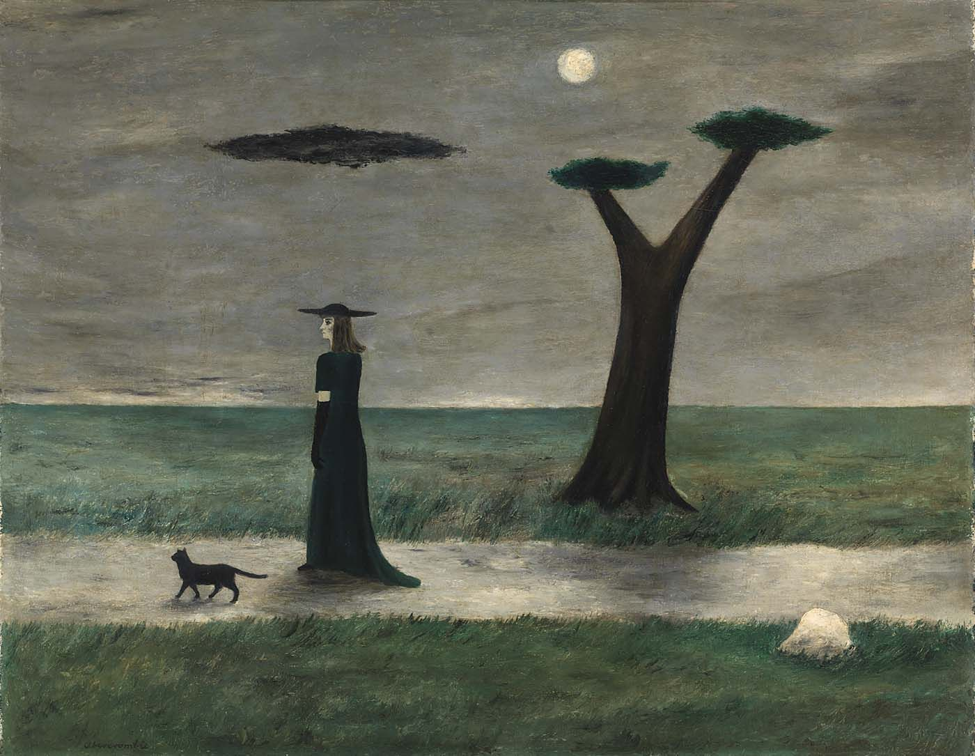 Gertrude Abercrombie | The Stroll