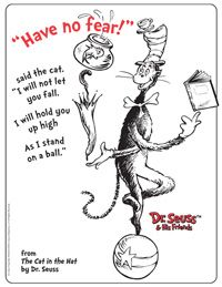 The Cat in the Hat Activities: Printable Coloring Pages