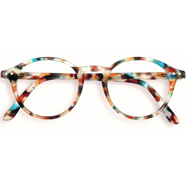 685a87c29e1 Stylish Izipizi Blue Tortoise Shell Rounded Reading Glasses ( 32) ❤ liked  on Polyvore featuring accessories