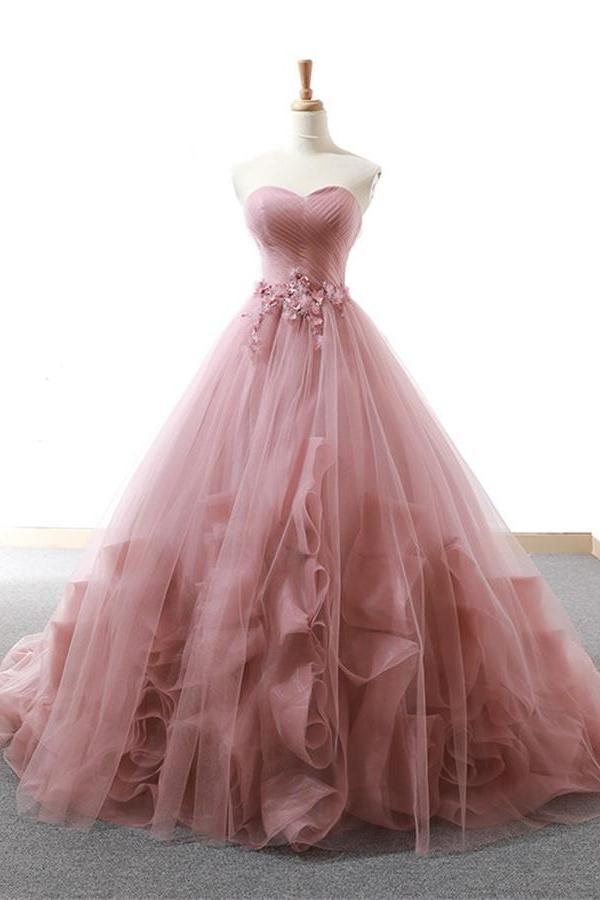 cheapest sale new high quality best shoes Sweetheart Lace Up Simple Elegant Ball Gown Backless Prom ...