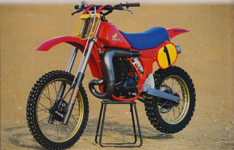 Honda Rc 250 R 1983 Usa Moto Da Cross Anni 70 80