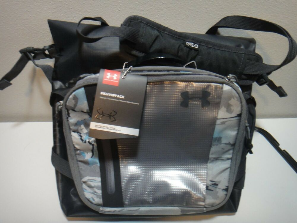 685302d8d6d Under Armour Unisex Fish Hippack Dry Bag Removable Foam Fly Patch UA Camo # UnderArmour