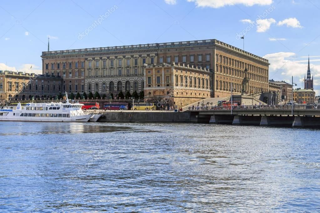 Royal Palace in Stockholm Stock Image , #AFFILIATE, #Palace, #Royal, #Stockholm, #Image #AD