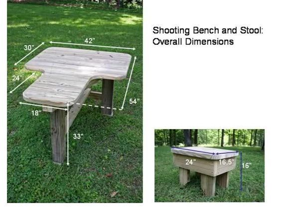 Built My Own Shooting Bench Pictures Shooting Bench Shooting Bench Plans Portable Shooting Bench