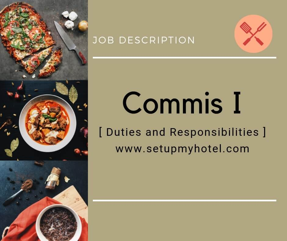 Who Is A Commis I Chef Here S The Job Description Chef Jobs Chef Job Description I Chef