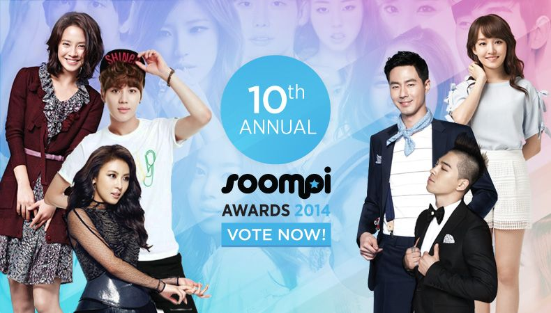 Welcome to our 10th Annual Soompi Awards! Final scores will be based