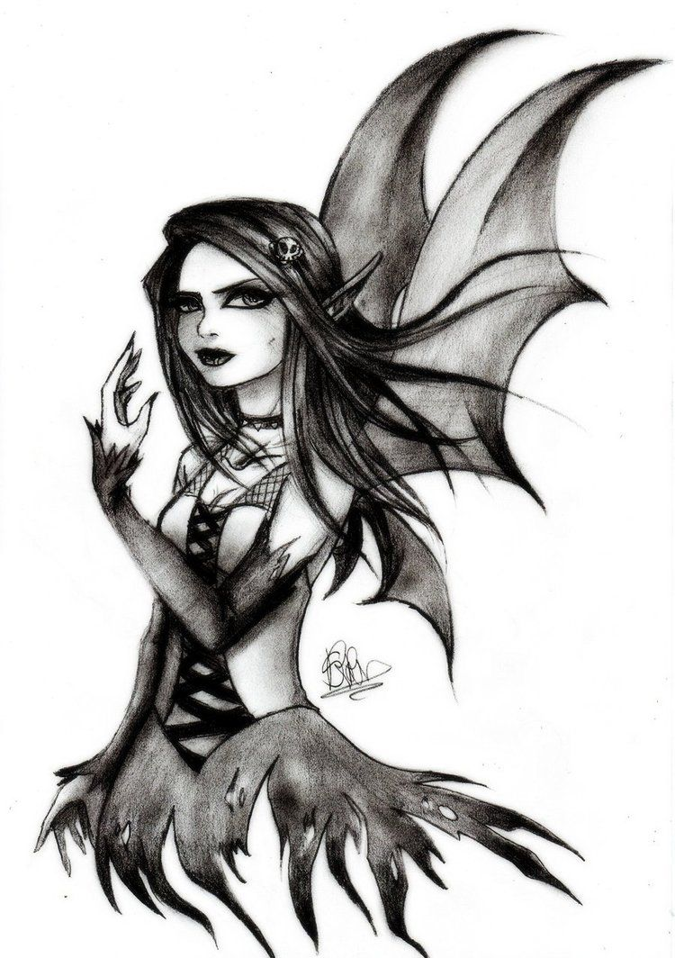 dark fairy drawings gothic fairy by soeraven jen3633 pinterest gothic fairy. Black Bedroom Furniture Sets. Home Design Ideas