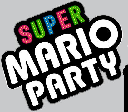 Super Mario Party Logo Super Mario Party Super Mario Party Logo