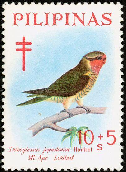 Filipinas 1969  -  El Lorito  Verdigualdo