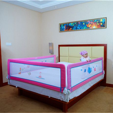 Baby Bed Fence Kids Playpen For Bedroom Mattress Safe Playpens Wood Dropping