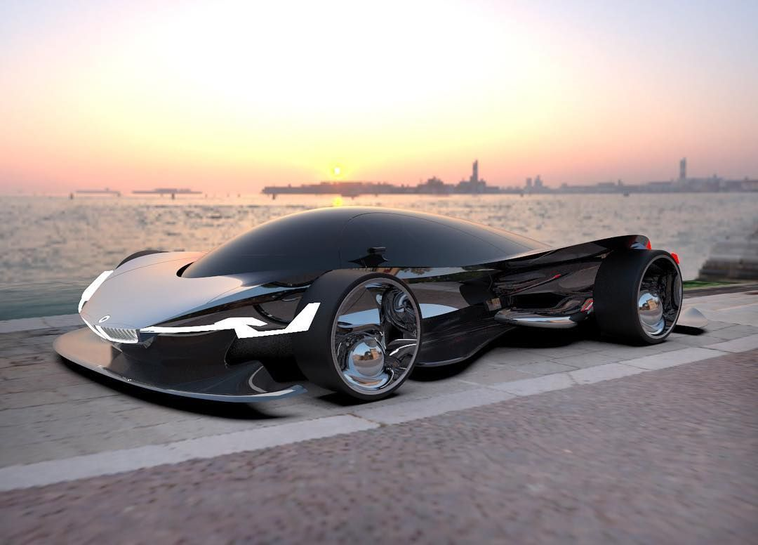 This 2030 Bmw Concept Car My Latest Project Is Finally Through