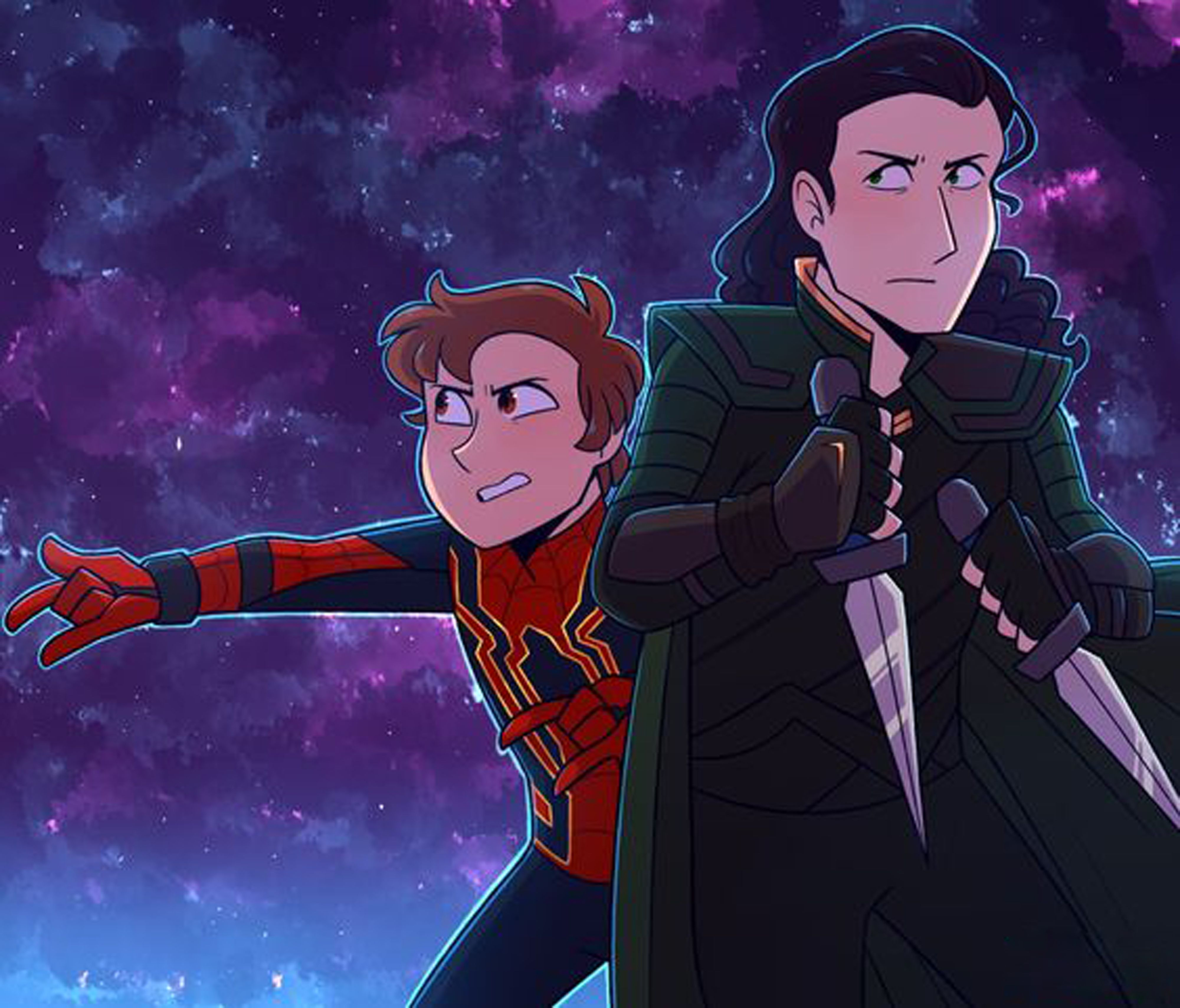 Peter Parker And Loki - Exploring Mars