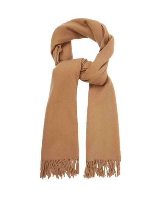 ACNE STUDIOS Canada Narrow wool scarf.  acnestudios  scarf   Acne ... 2376cae7b32