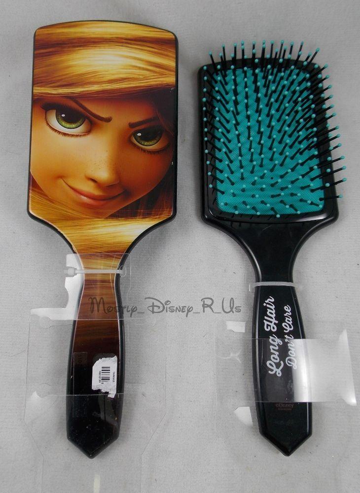 New Disney Tangled Rapunzel Large Hair Brush Long Hair Don T Care Disney Disney Tangled Hair Brush Long Hair Styles