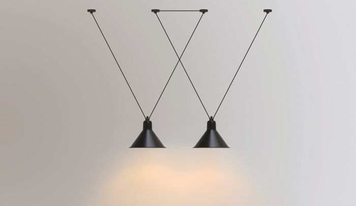 DCW Lampe Gras N°323 &39;Les Acrobates&39; in 2020   Suspension lamp, Lamp, Pendant light