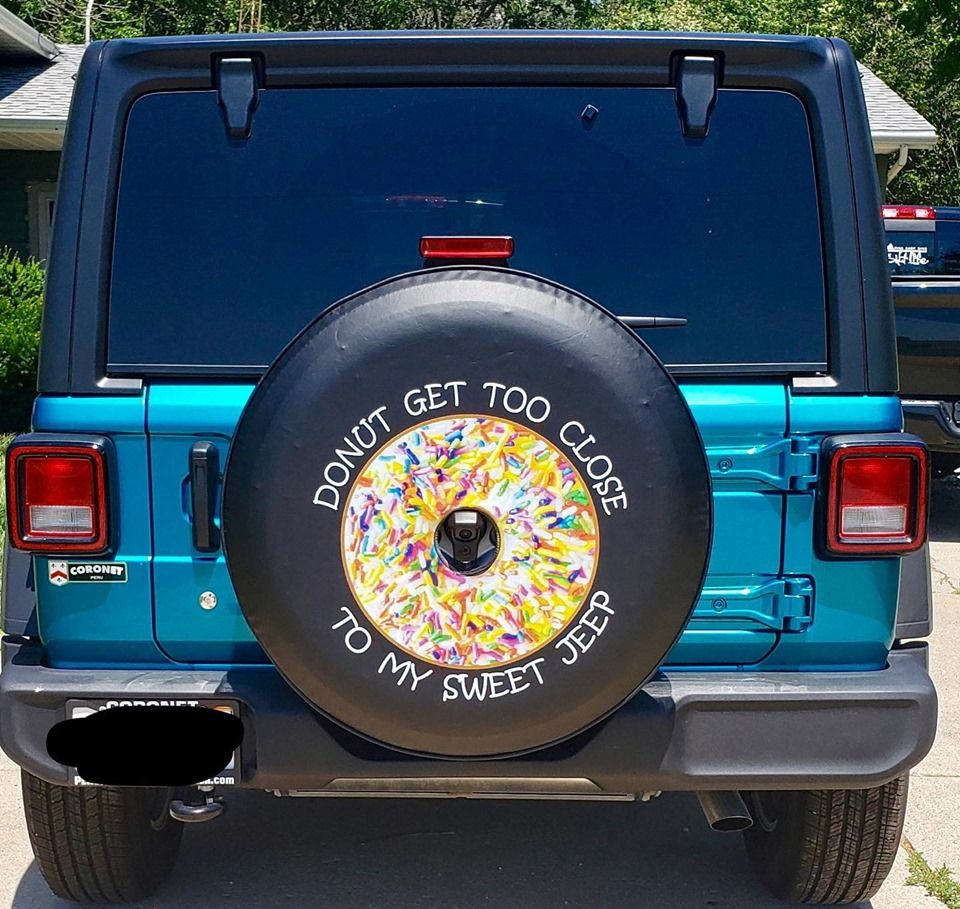 Make Your Day As Sweet As This Sweet Custom Tire Cover