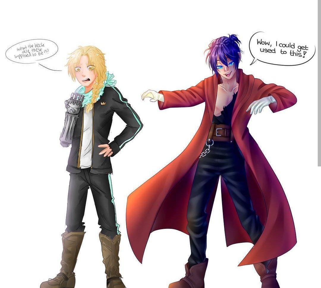Edward elric and yato my two love | Fullmetal alchemist ...