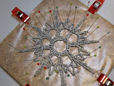Tutorial Crocheted Snowflake Ornaments For Craftzine The Zen