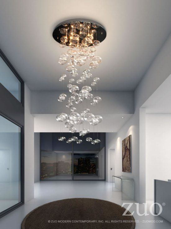 ZUO MODERN LIGHTING CRYSTAL CHANDELIER