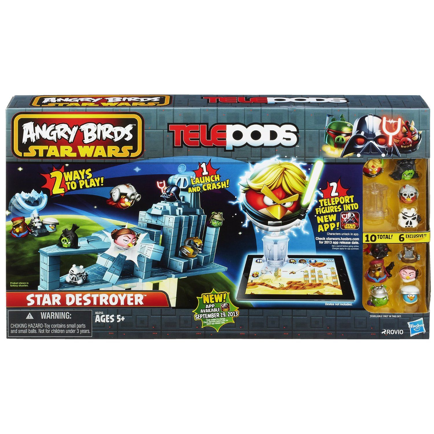 Angry Birds Star Wars Telepods Star Destroyer Set Angry Birds